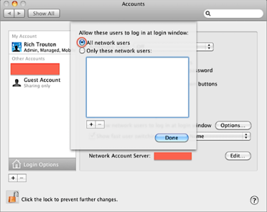 Fixing network user login problems on a Mac correctly bound to an AD or OD  domain | Der Flounder