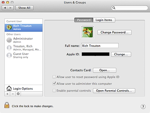 How to avoid associating your Apple ID with your Mac's