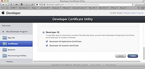 Creating Apple Developer ID-signed Casper QuickAdd installer
