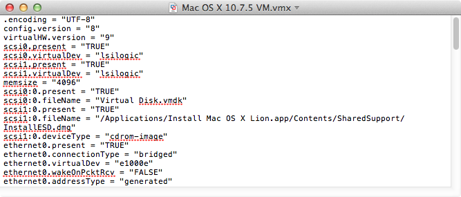 Emulating specific Apple models in VMWare Fusion VMs | Der Flounder