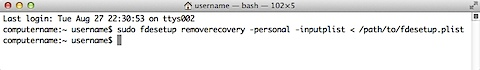 Figure_30–Using_ fdesetup_removerecovery_personal_with_inputplist