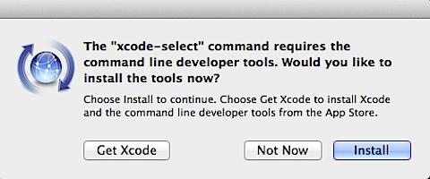 Xcode-select