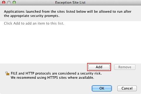 Oracle Java 7 Update 51 blocks unsigned Java applets by default (6/6)