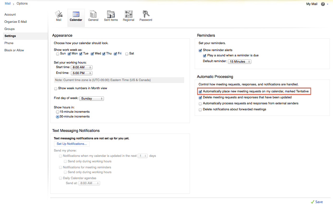 Accepted meeting requests in outlook showing as new meeting screen shot 2014 01 15 at 125811 pm stopboris Image collections