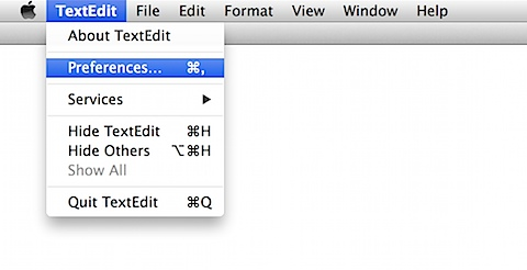 Disabling smart quotes in Mavericks (5/6)