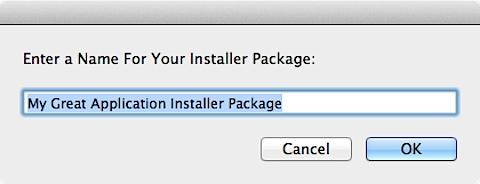 Simple Package Creator.app (5/6)