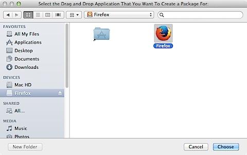 Simple Package Creator.app (3/6)