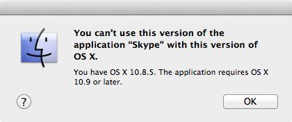 POUR MAC OS 10.7.5 SKYPE TÉLÉCHARGER
