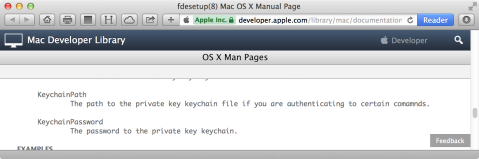 Figure_26–References_to_KeychainPath_and_KeychainPassword_in_the_fdesetup_man_page