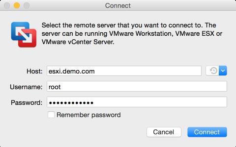 Figure_2-Providing_account_credentials_to_the_remote_ESXi_server