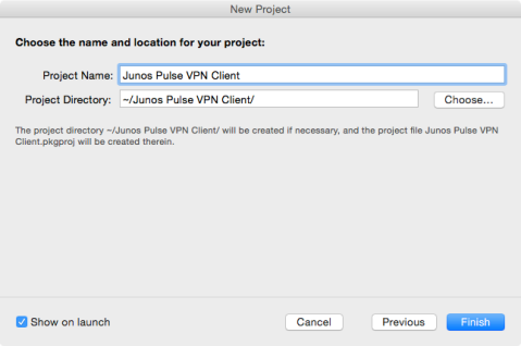 Deploying a pre-configured Junos Pulse VPN client on OS X