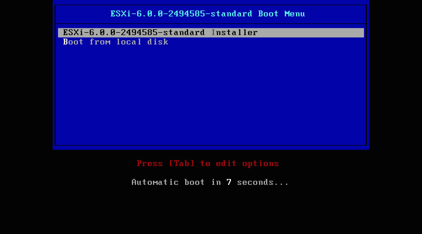 Setting up ESXi 6 0 on a 2012 Mac Mini Server | Der Flounder