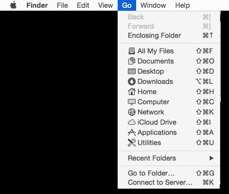 Accessing and unhiding the hidden ~/Library folder | Der