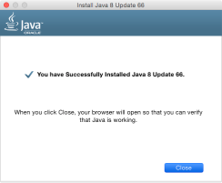 Oracle's Java 8 Update 66 | Der Flounder