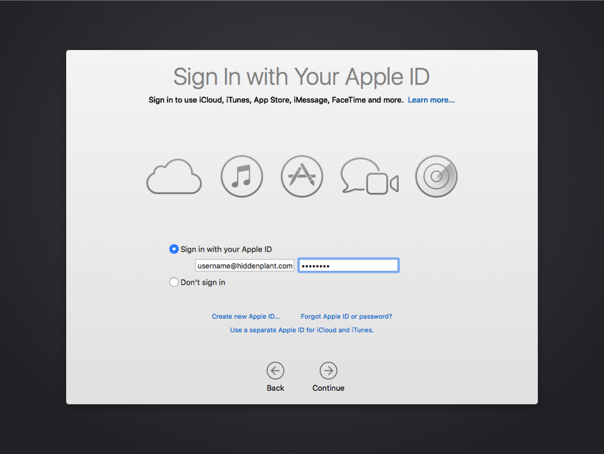 iCloud password option for local users removed in OS X 10.11.4's ...