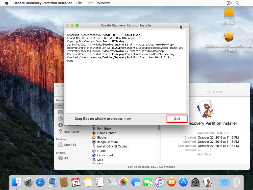 MacAdmin 101: Building a recovery partition installer