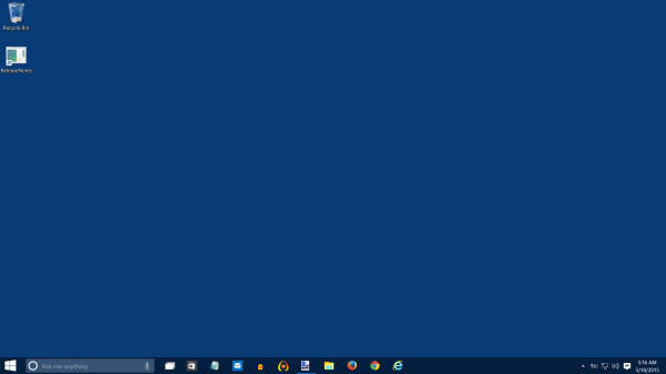 Plain desktop windows 10 screenshot 03 18 15 2