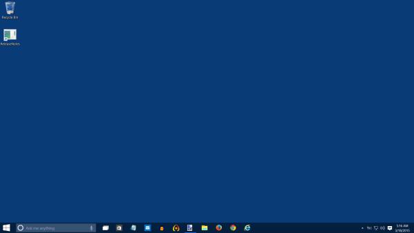 Plain desktop windows 10 screenshot 03 18 15 2