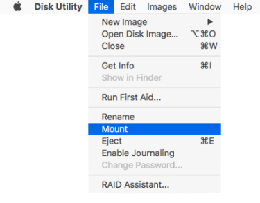 Using Disk Utility on macOS Sierra to unlock FileVault 2-encrypted