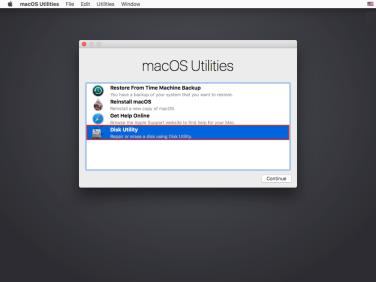 Using Disk Utility on macOS Sierra to unlock FileVault 2