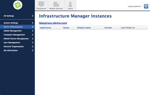 Installing and configuring the Jamf Infrastructure Manager