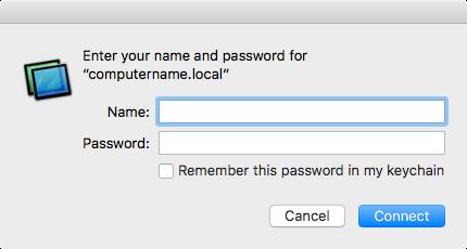 Enabling least-privilege screensharing using Apple's Remote Desktop