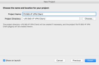 Deploying a pre-configured F5 Big-IP VPN client | Der Flounder