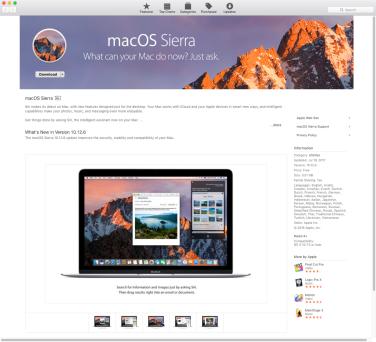 Sierra download mac 10 os Mac Os