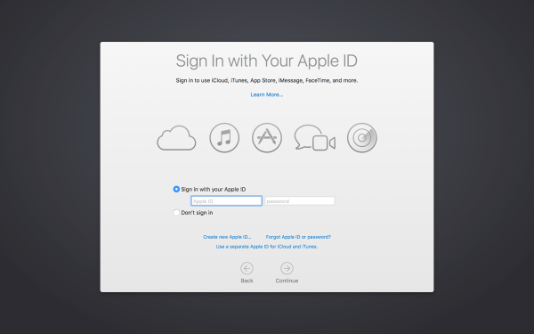 Suppressing the Data & Privacy pop-up window on macOS High