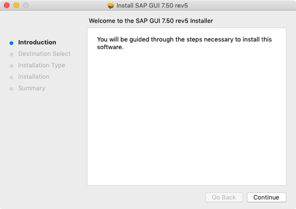 Packaging SAP GUI for macOS with Java 11 support | Der Flounder