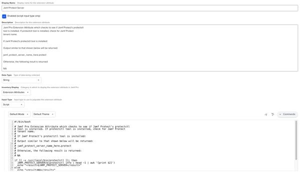 Jamf Pro Extension Attribute Setup2